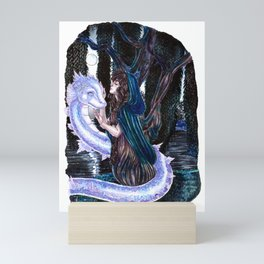 The Willow tree sign Mini Art Print