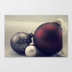 Warm Christmas Canvas Print