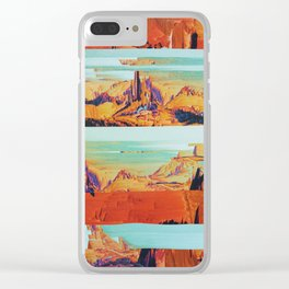 MÑTQM Clear iPhone Case