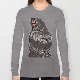 He's a bear in a bad mood Long Sleeve T-shirt