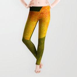 """""""Green Lemon Sunset"""" Leggings"""