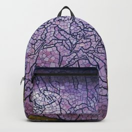 Mosaic Above Backpack