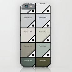 50 Shades Of Pantone Grey iPhone 6s Slim Case