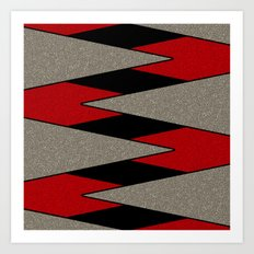 Triangulation 3 Art Print