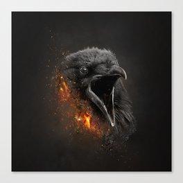 XTINCT x Raven Canvas Print