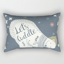 Let's Cuddle Rectangular Pillow