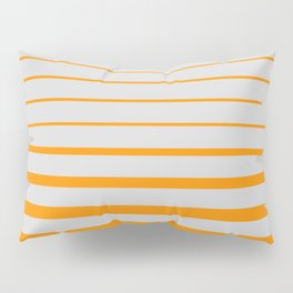 Orange digital horizons Pillow Sham
