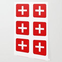 Swiss flag Wallpaper
