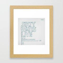 SKETCH Nº036 Framed Art Print