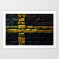 sweden Art Prints featuring Sweden by Nicklas Gustafsson