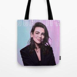 dua lipa Tote Bag