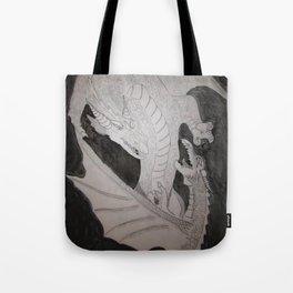 Storm Kings (Dragon thunder and lightning) Tote Bag