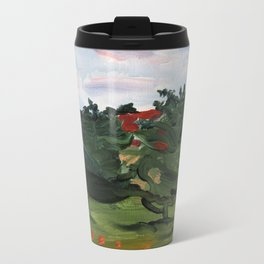 """Pumpuri"" Metal Travel Mug"