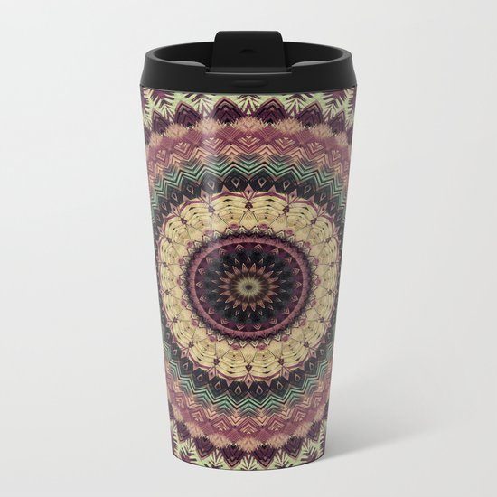 Mandala 273 Metal Travel Mug