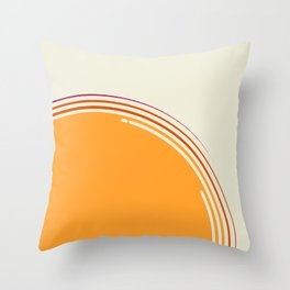 sole equatoriale Throw Pillow