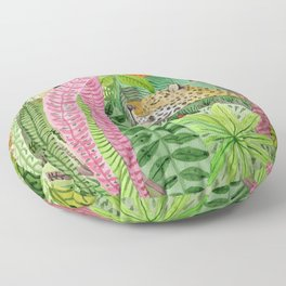Jungle animals Floor Pillow
