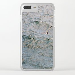 Lunch time in the Gulf Clear iPhone Case