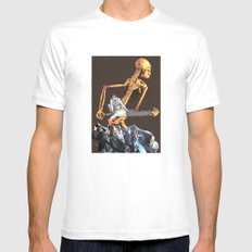 Todays Environment White MEDIUM Mens Fitted Tee