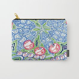 Happy Holidays Holly Carry-All Pouch