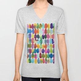 Rainbow Swatches Unisex V-Neck