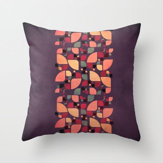 Vintage Butterflies Pattern Throw Pillow