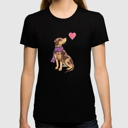 Watercolour Catahoula Leopard Dog T-shirt