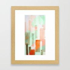 city Framed Art Print