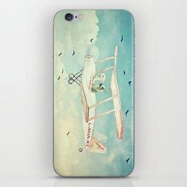 Never Stop Exploring III - THE SKY iPhone Skin