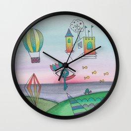 Skeye Castle Wall Clock