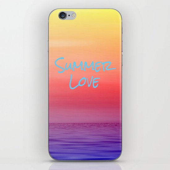 Summer Love iPhone & iPod Skin