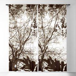 Memories of Endor 2 (B&W) Blackout Curtain