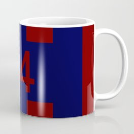 Legendary No. 14 in red and blue Coffee Mug