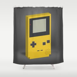 Game Boy Color Portrait Shower Curtain