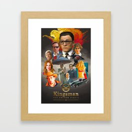 Kingsman: The Golden Circle Framed Art Print