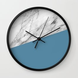 Marble and Niagara Color Wall Clock