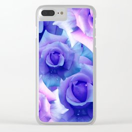 Bouquet de fleur Clear iPhone Case