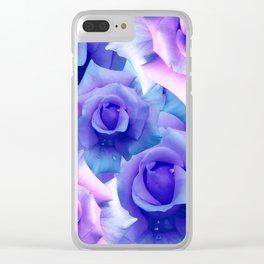 Bouquet de fleur Clear iPhone Case