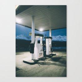 Yukon Gas Station Canvas Print