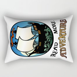 Read More Adventure Rectangular Pillow