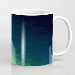 Blue Green Ombre Coffee Mug