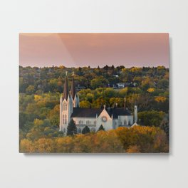 Autumn Reverence Metal Print