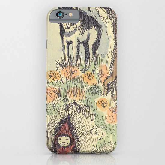 Wolf in the Woods iPhone & iPod Case