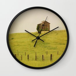 Summer Pastures Wall Clock