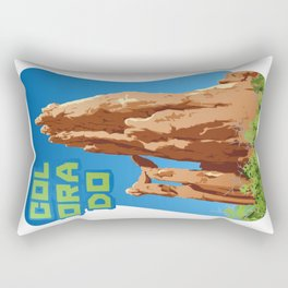 Garden of the Gods, Colorado Rectangular Pillow