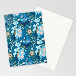 Tropical Water Type Stationery Cards