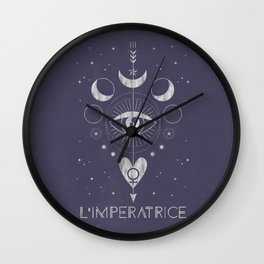 L'Imperatrice or L'Empress Wall Clock