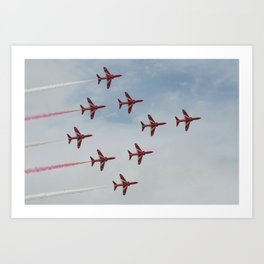 Pattern In The Sky Art Print