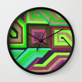 Love and Logic Colour Variation2 Wall Clock