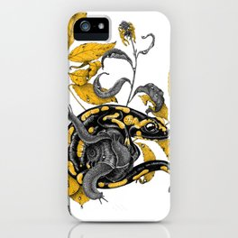 Salamander and Snails iPhone Case