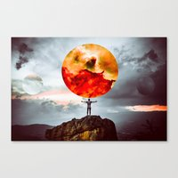 world of possibilities Canvas Print